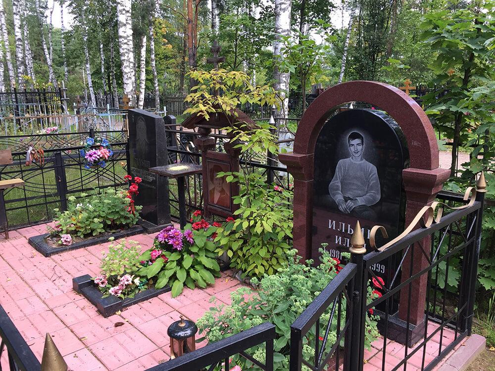 Родниковское кладбище. Фото 5
