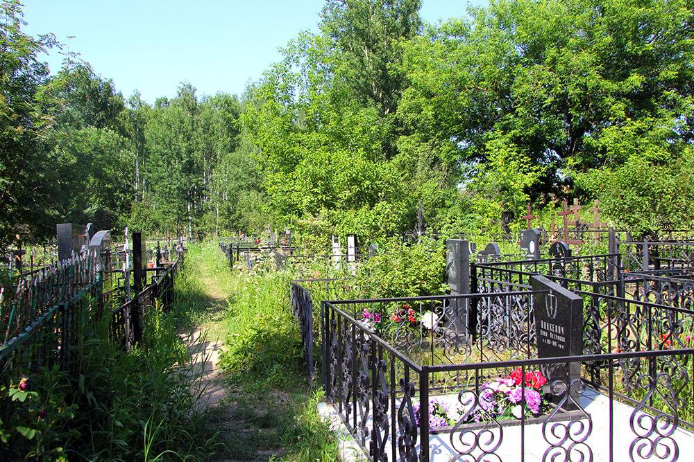Родниковское кладбище. Фото 7