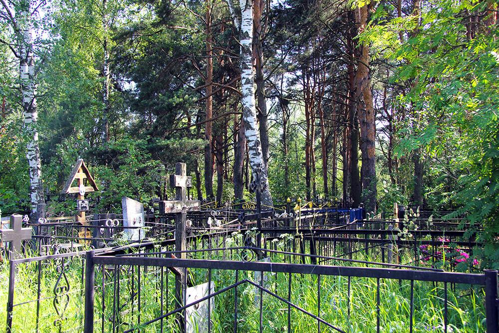 Родниковское кладбище. Фото 8