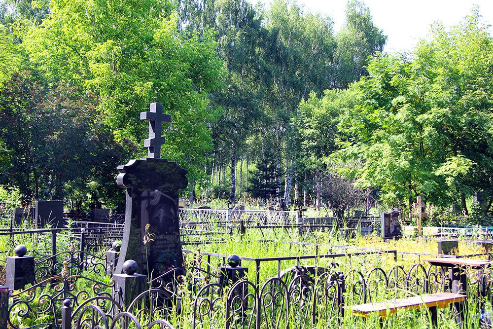 Родниковское кладбище. Фото 9