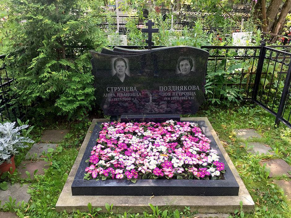 Саларьевское кладбище. Фото 5