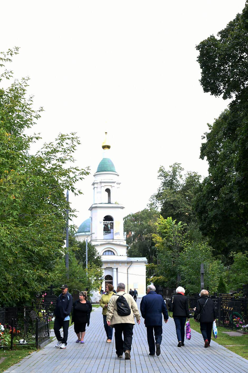 Ваганьковское кладбище. Фото 7