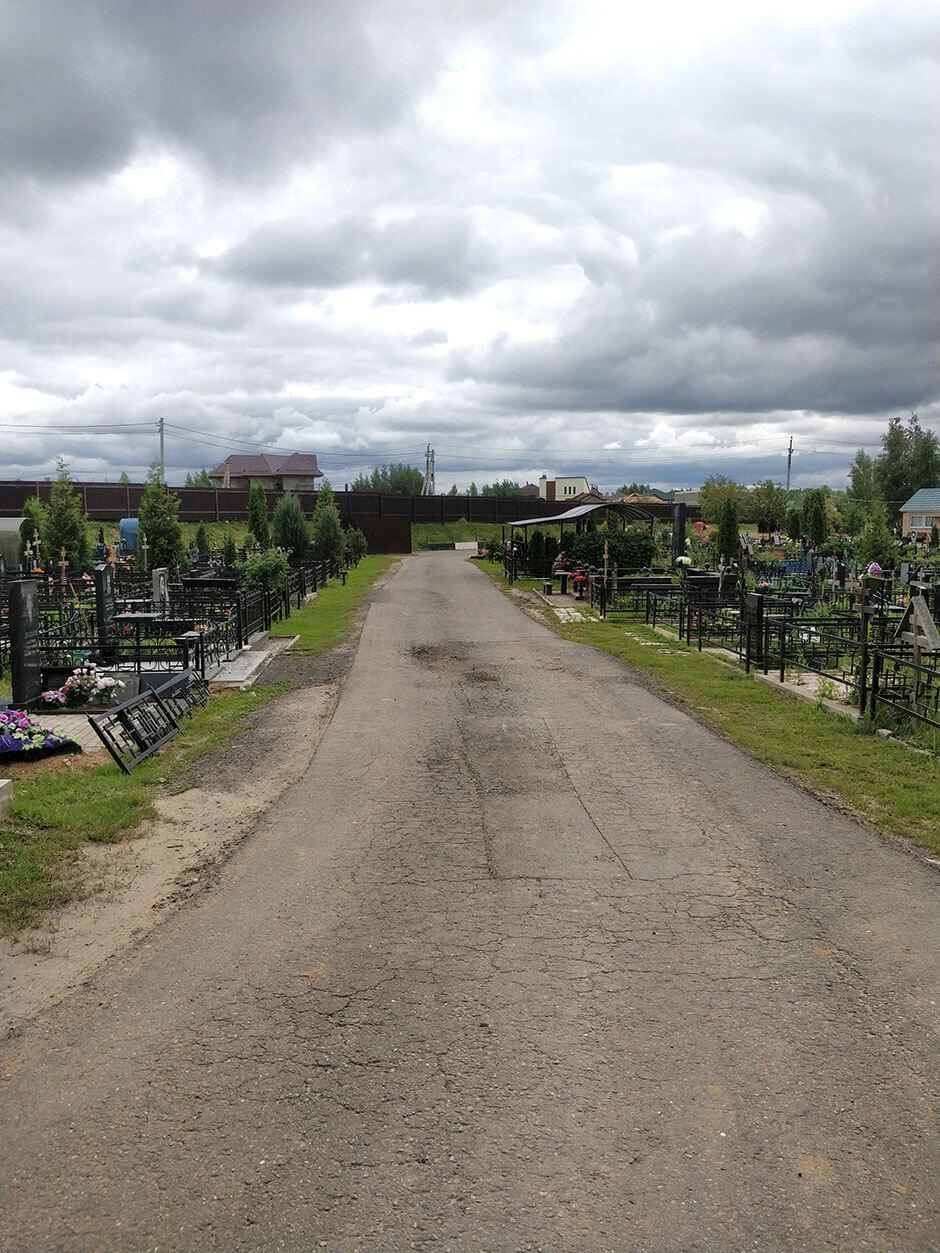 Вёшкинское кладбище. Фото 1