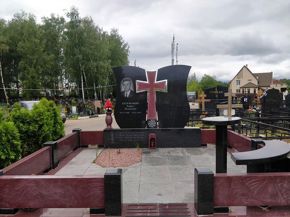 Вёшкинское кладбище. Фото 7