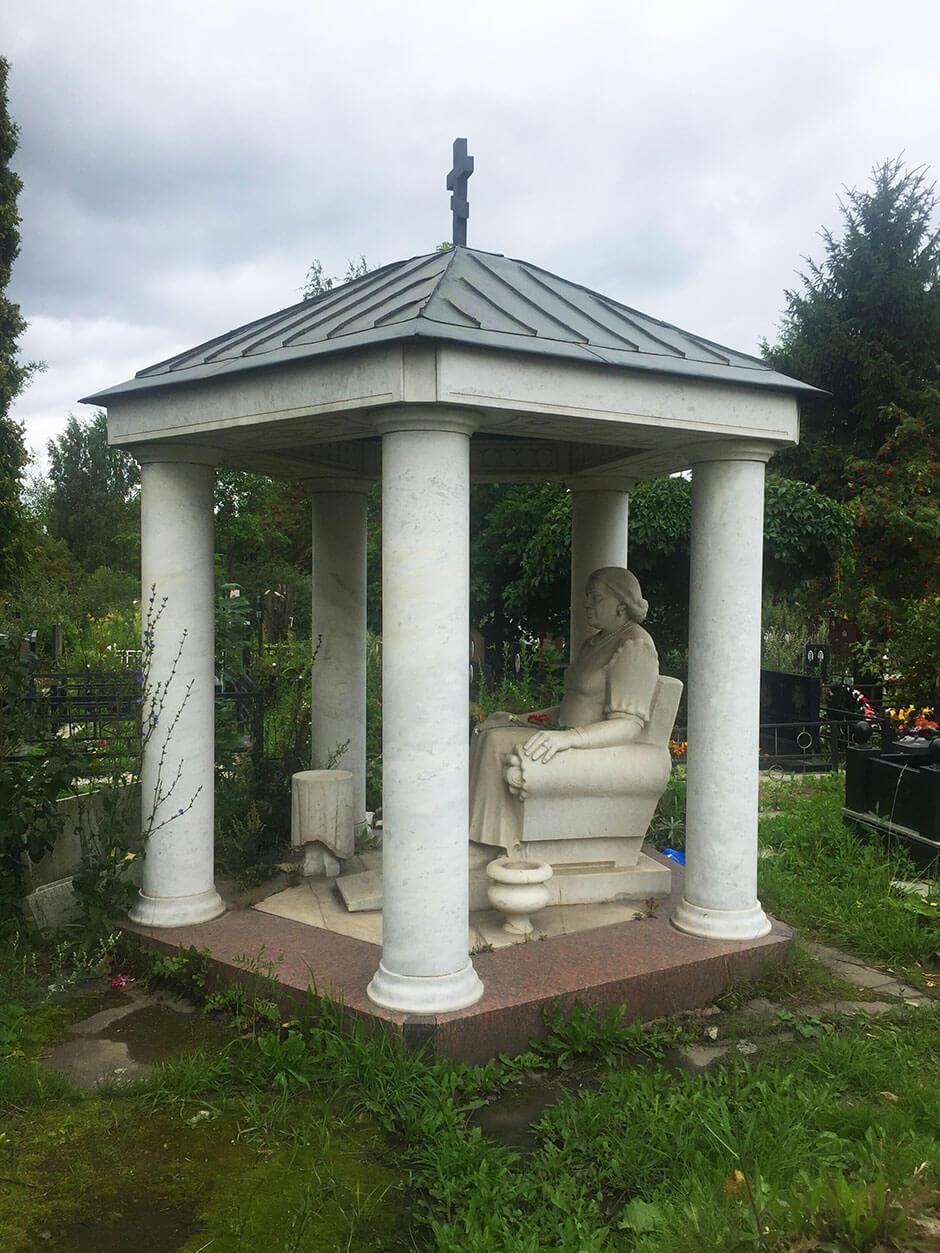 Волковское кладбище. Фото 10
