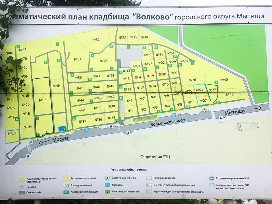 Волковское кладбище. Фото 2