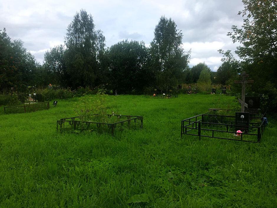 Волковское кладбище. Фото 7