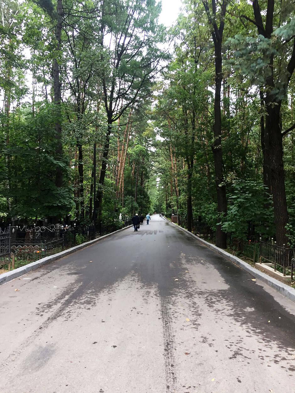 Востряковское северное кладбище. Фото 3