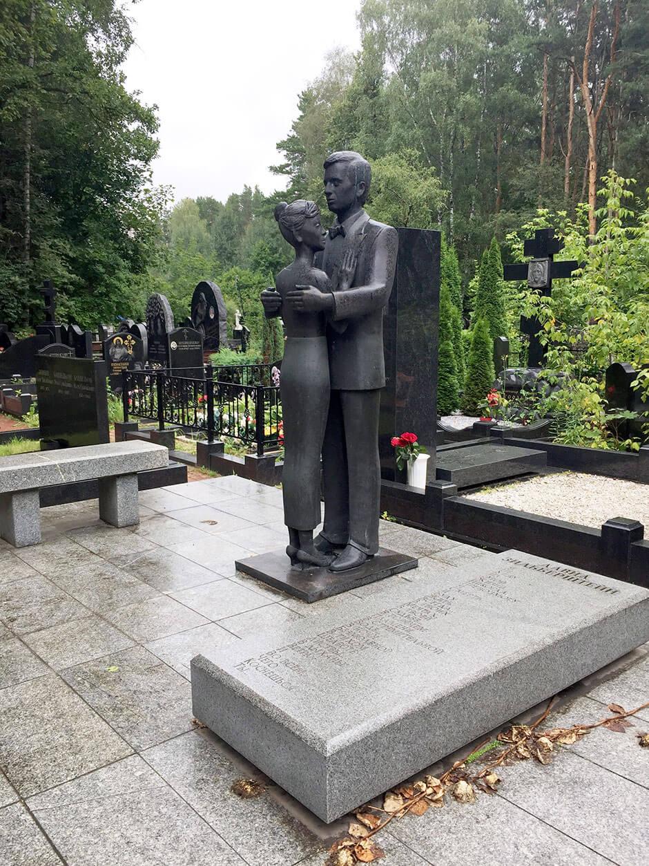 Востряковское северное кладбище. Фото 6