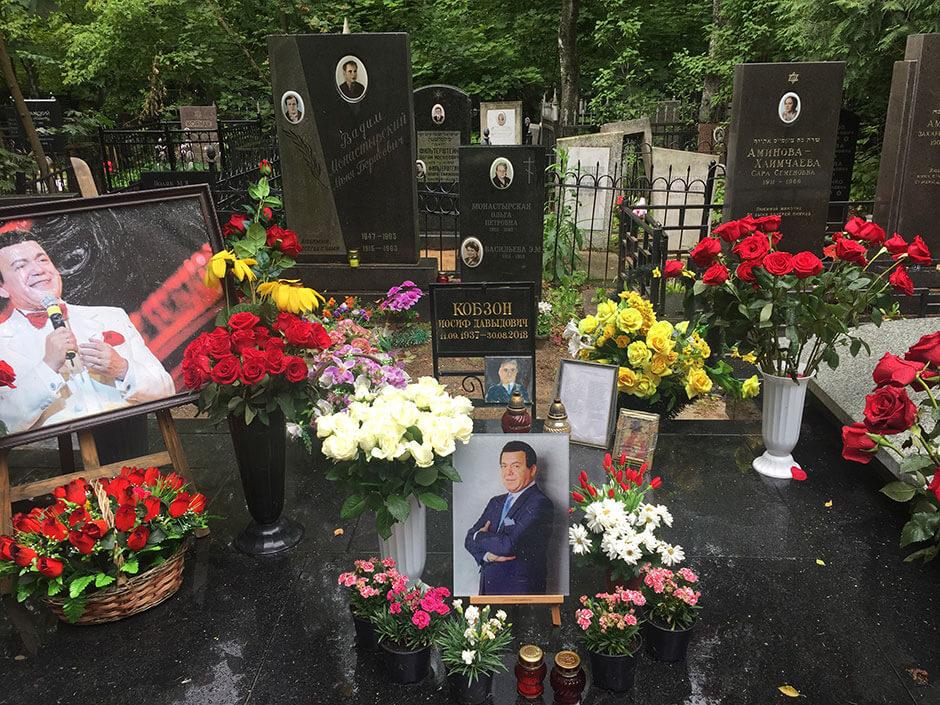 Востряковское центральное кладбище. Фото 3