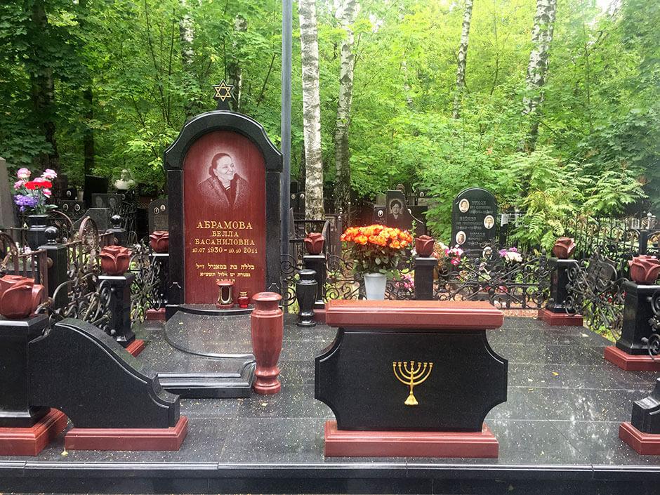 Востряковское центральное кладбище. Фото 4