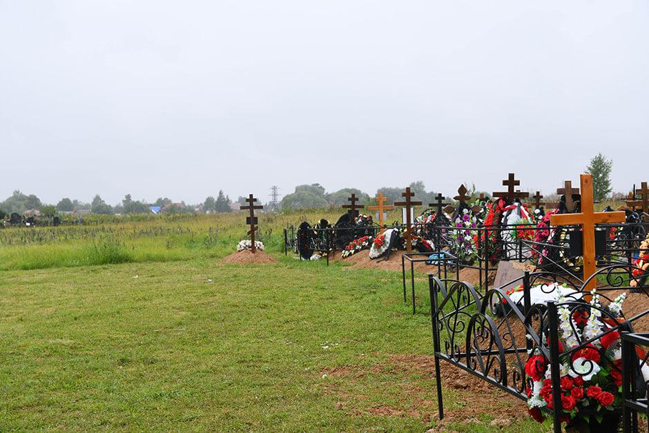 Востряковское кладбище. Фото 3