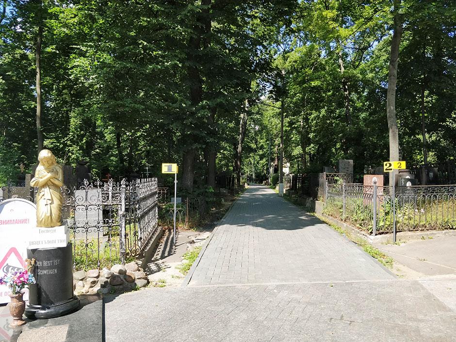 Введенское кладбище. Фото 4