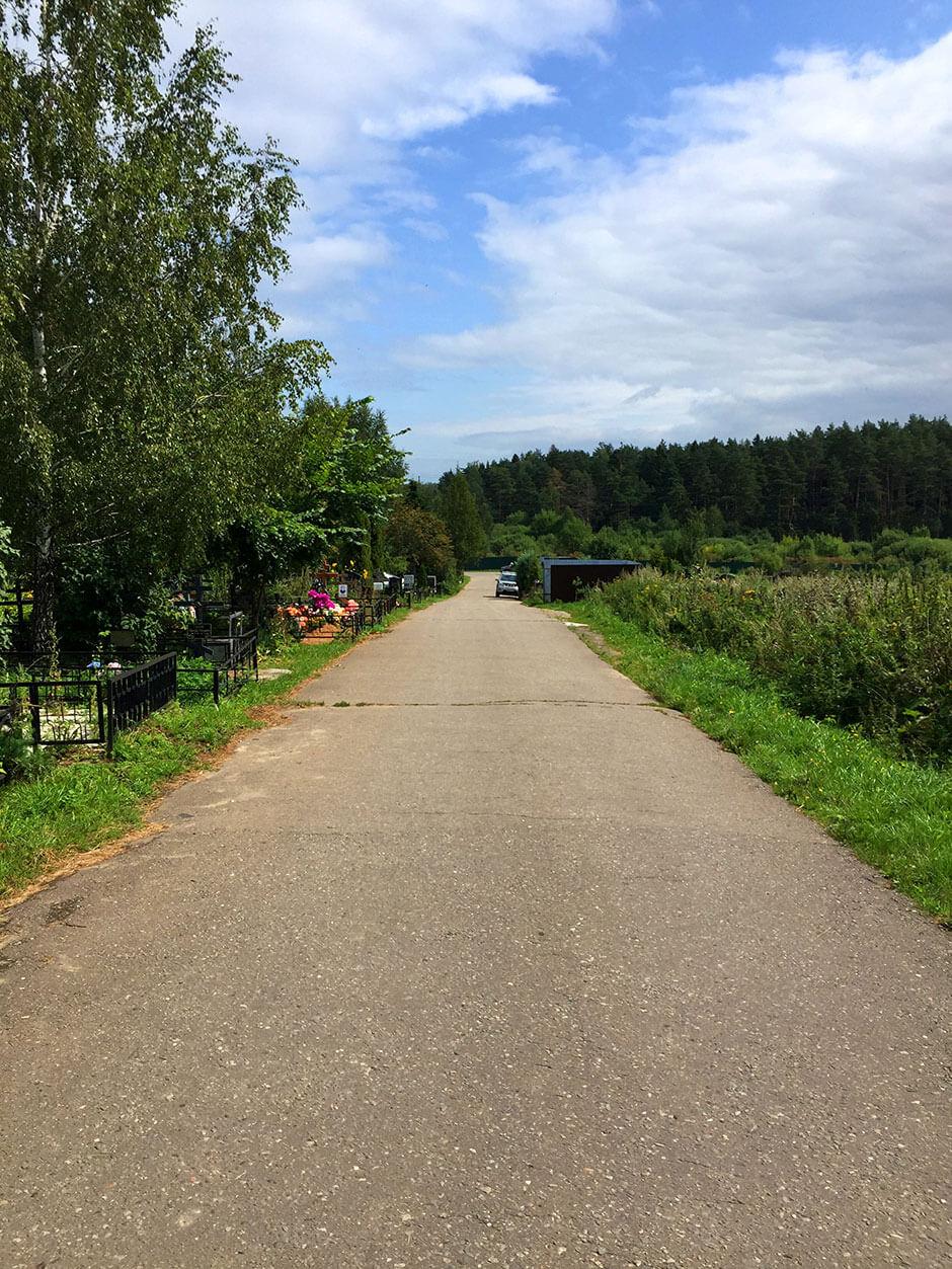 Юдинское кладбище. Фото 2