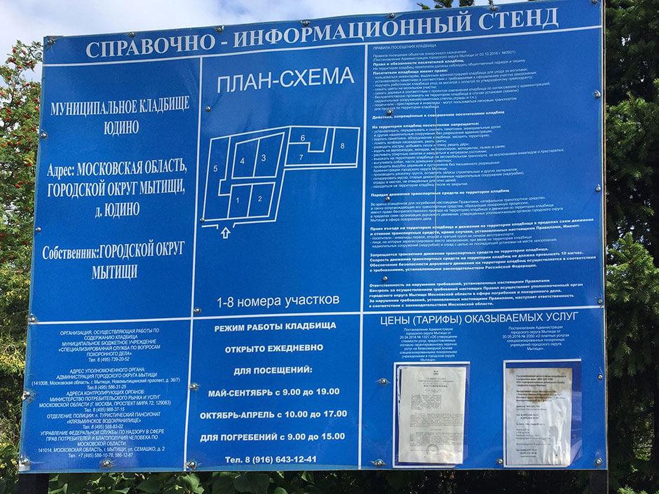 Юдинское кладбище. Фото 4