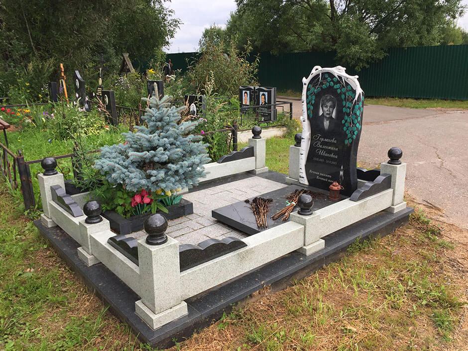 Юдинское кладбище. Фото 7