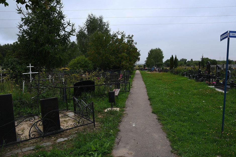 Заболотьевское кладбище. Фото 3