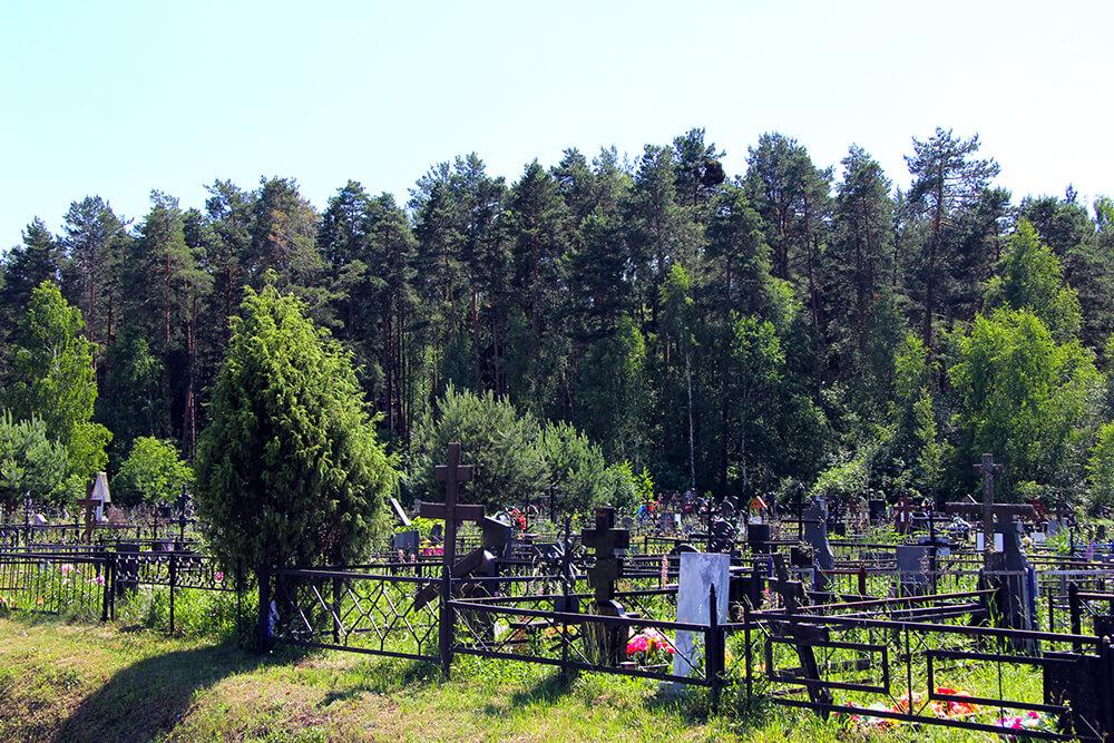 Загорновское кладбище. Фото 2